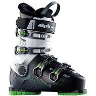 Alpina X Track 50 čierna / biela / zelená (ALU pracky) 280 - Topánky
