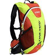 One Way Run Hydro Backpack 12L Yell / Red - Športový batoh
