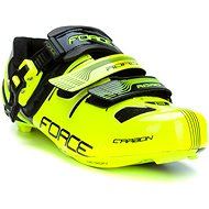 Force tretry Road Carbon, fluo-čierne 40 - tretry