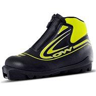 OW Xalta Junior Black/Yellow, veľkosť 12,5K - Obuv