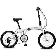 "Olpran folding 20"" white - Skladací bicykel"