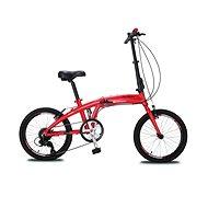 """Olpran folding 20"""" red - Skladací bicykel"""