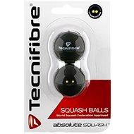 Tecnifibre dvoutečkové žluté - Squashová lopta