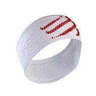 COMPRESSPORT headband, white - Čelenka