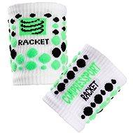 COMPRESSPORT wristband white/green