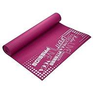 Lifefit slimfit gymnastická, 173x61x0,4 cm, bordová