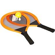 Sada raket tenis & badminton, oranžová - Športová súprava