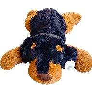 Plyšový psík tmavý 90 cm - Plyšová hračka