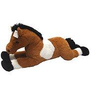 Kôň bielo / hnedý 80 cm - Plyšová hračka