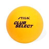 Stiga Club Select oranžové 6 ks - loptička