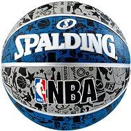 NBA Graffiti Outdoor sz.7 blue - Lopta