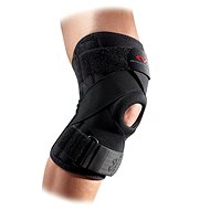 McDavid Knee Support w/ stays & cross straps, černá L