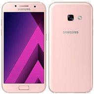 Samsung Galaxy A3 (2017) ružový - Mobilný telefón