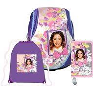 Anatomický batoh Abb Set - Disney Violetta - Školská súprava