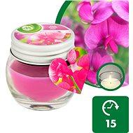AIRWICK Růžové květy středomoří 30 g - Sviečka