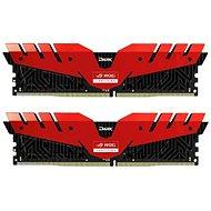 T-FORCE 16 GB KIT DDR4 3000 MHz CL16 Dark ROG Red Series