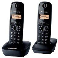 Panasonic KX TG1612FXH DECT SMS Duo - Dva digitálne bezdrôtové domáce telefóny