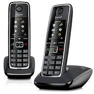 GIGASET C530 DUO - Digitálny domáci bezdrôtový telefón