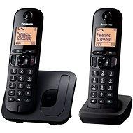 Panasonic KX-TGC212FXB Twinpack Black