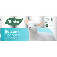 TENTO Sensitive Coconut Milk (8 ks) - Toaletný papier