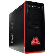 Eurocase ML 5485 black red - 400W - Počítačová skriňa