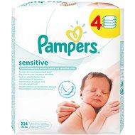 PAMPERS Sensitive (4 x 56 ks) - Vlhčené obrúsky