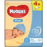 HUGGIES Pure Quatro Pack (4x 56 ks) - Vlhčené obrúsky