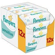 PAMPERS Sensitive (12 x 56 ks) - Vlhčené obrúsky