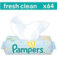 PAMPERS Fresh Clean (64 ks) - Vlhčené obrúsky