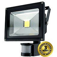 Solight vonkajší reflektor so senzorom 20W, čierny - LED svetlo