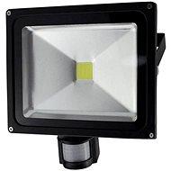 Solight vonkajší reflektor so senzorom 50W, čierny - LED reflektor