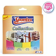 SPONTEX 4 Collection 4 ks - Utierka