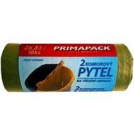 PrimaPack 2-komorové vrecia na odpad 2x35L / 10ks - Vrecia na odpadky