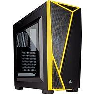 Corsair SPEC-04 Black/Yellow Carbide Series čierna/žltá s priehľadnou bočnicou