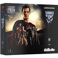 GILLETTE Fusion Proshield JUSTICE LEAGUE Superman kazeta - Darčeková súprava