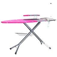 BRILANZ Professional 130x48 cm, ružové A04185 - Žehliaca doska