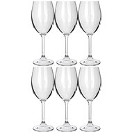 BANQUET Leona Crysta biele víno 230 A11304 - Pohárik