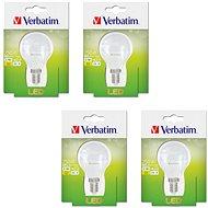 Verbatim 3,1 W LED E14 2700K súprava 4 ks - LED žiarovka