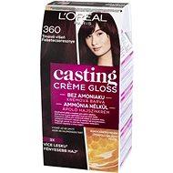 Loreal CASTING Creme Gloss 360 Tmavá višňa - Farba na vlasy