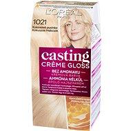 Loreal CASTING Creme Gloss 1021 Blond svetlá perleťová - Farba na vlasy
