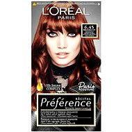 L'ORÉAL PARIS Préférence Paris Couture Brooklyn 6.45 intenzívna medená hnedá - Farba na vlasy