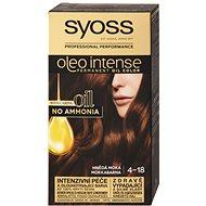 SYOSS Oleo Intense 4-18 Hnedá moka 50 ml - Farba na vlasy
