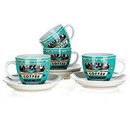 BANQUET súprava šálok COFFEE A11738 - Súprava