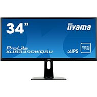 "34"" iiyama ProLite XUB3490WQSU ultrawide - LCD monitor"