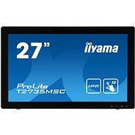 "27"" iiyama ProLite T2735MSC-B2 MultiTouch - Dotykový LCD monitor"