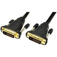 PremiumCord prepojovací DVI-D 2m - Video kábel