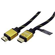 ROLINE HDMI Gold High Speed s Ethernetom (HDMI M<-> HDMI M), pozlátené konektory, 15m - Video kábel