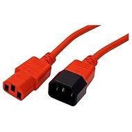 ROLINE sieťový 1.8 m - červený - Napájací kábel