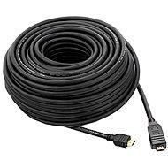 PremiumCord HDMI High Speed s ethernetom prepojovací 30 m čierny - Video kábel