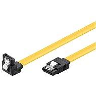 PremiumCord SATA III 90 ° 0,7 m - Dátový kábel